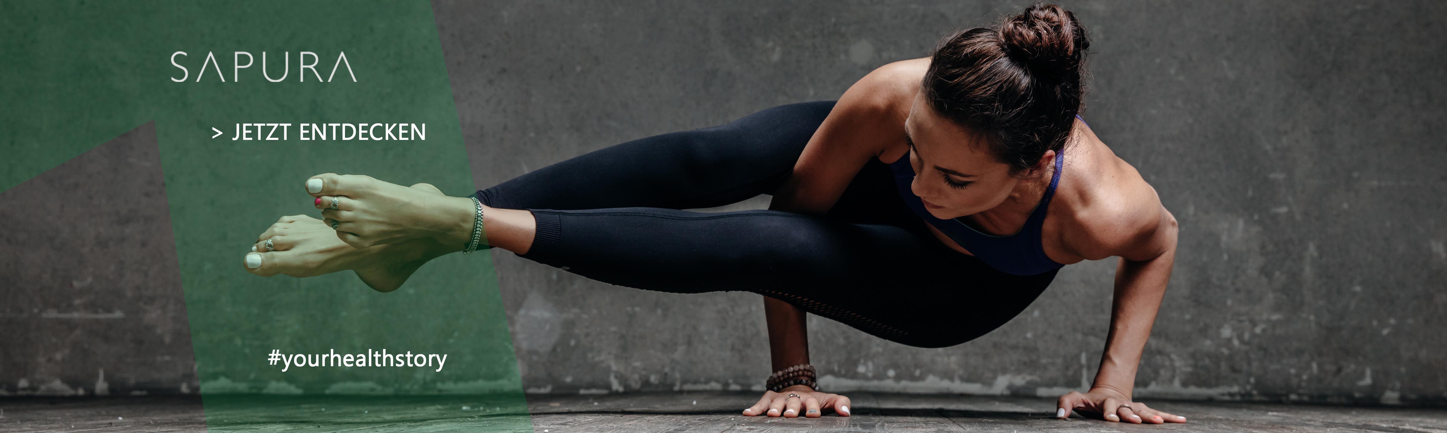 Entdecke jetzt die SAPURA Faszienbälle, Faszienrollen, Triggerpunkt-Massagestäbe und Yogamatten!